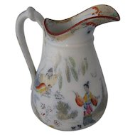 Petreus Regout Maastricht Holland Timor Milk Pitcher