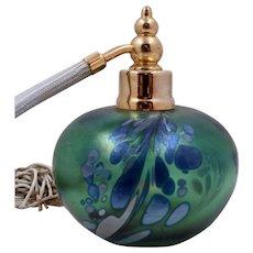 Maytum Studios Art Glass Perfume w/ Atomizer 1992