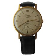 1950s Onsa Elegance Mens Watch Swiss Wind-Up