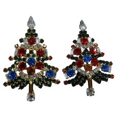 Pair OTC Christmas Tree Pins