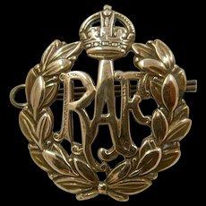 Pre WWII RAF Cap Badge Kings Crown