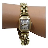 Rinehart 14K Ladies Watch & Bracelet/Band Wind-Up Mid 1900s