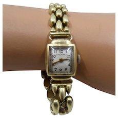 Rinehart 14K Ladies Watch & Bracelet/Band Wind-Up Mid 1900s
