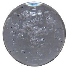 Big San Pacific San Francisco Controlled Bubbles Paperweight