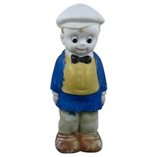 """1930s Smitty Bisque Figure Comic Book Character 7 1/4"""""""