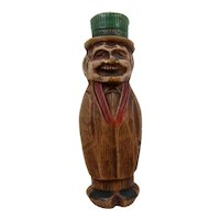 Ca 1941 Syroco Carving Man in Top Hat