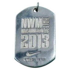 Tiffany Sterling Nike Women's Marathon Pendant 2013 DC