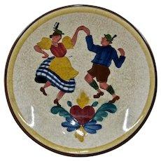 Villeroy & Boch HP Enamel Plate Bavarian Dancers