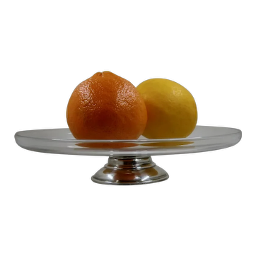 Ca 1930 Frank Whiting sterling Footed Tazza Compote