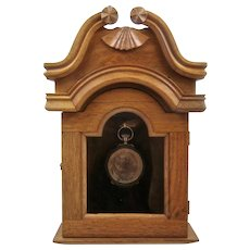 Winterthur Miniature Furniture Walnut Cabinet Pocket Watch Holder