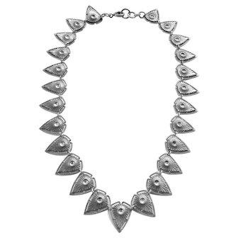 Vintage Art Deco Egyptian Revival Style Necklace