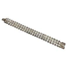 Antique Repoussé  Silver Bracelet
