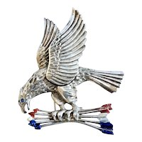 Rice-Weiner, 1940 American Eagle Brooch, Book Piece