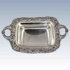 Magnificent Thibault Bros Philadelphia Coin Silver Bread Basket c1820-1835