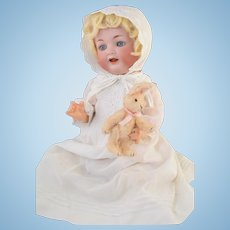 """Gorgeous K Star R Simon Halbig Bisque """"Mein Liebling"""" Character Baby Doll 17"""" 126 42"""