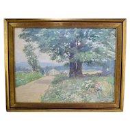 John Louis Wellington (1878-1965) Cumberland MD Landscape Painting Maryland