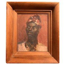 c1910 Ashcan School Portrait of African American Gentleman