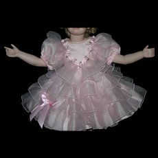 """24"""" Shirley Temple doll dress slip bloomers"""