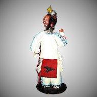 Vintage 1940's artist Edna Ruth Starling Native American Chief Black Hawk doll figure