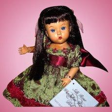 HTF Madame Alexander Silk Rose Wendykin wood doll 40795 MIMB