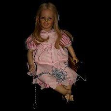 """26"""" Vinyl Annette Himstedt doll Lisa"""
