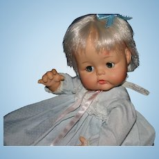 1965 Madame Alexander tagged Sweet Baby 13""
