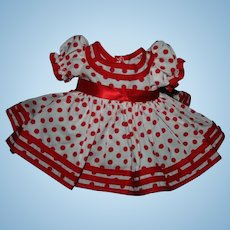"""18"""" Shirley Temple """"stand up and cheer"""" dress"""