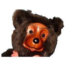 "16"" Robert Raikes wo0den face bear"
