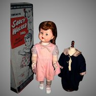 "22"" Ideal Saucy Walker all original in box 1950's"