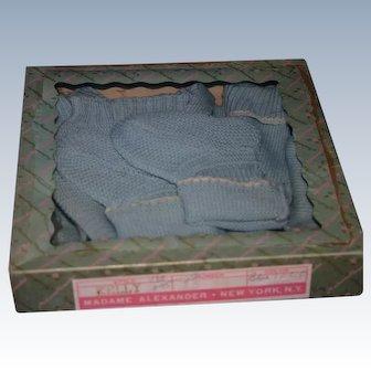 1950's MIB Madame Alexander Kelly sweater set Large