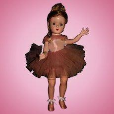 """15"""" Tagged 1950's Original Madame Alexander Margot Ballerina"""