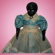 "9"" Black China doll Lady"