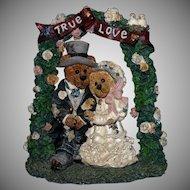 1995 Boyd's Bears & Friends Figurine #2274 Grenville and Beatrice...True Love EC