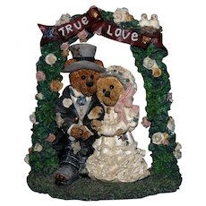 1995 Boyd's Bears & Friends Figurine #2274 Grenville and Beatrice...True Love EC