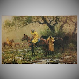 """XLG Robert Summers 1980 LE signed Print """"Slicker Time"""""""