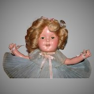 """13"""" Ideal Shirley Temple Excellent original tagged"""