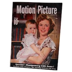 Mint July 1949 Motion Picture Magazine Shirley Temple