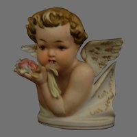 Lefton China Cherub Angel figurine bisque Mint