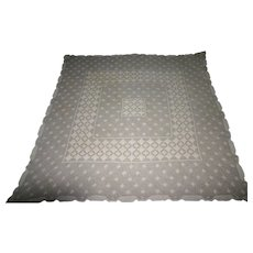 Square lacework Table cover