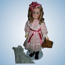 """Kestner 168 square teeth 22"""" German doll"""