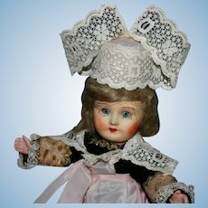 "7.5"" bisque  French regional doll"