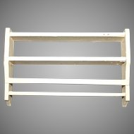 Dollhouse Kitchen Dining hanging plate rack