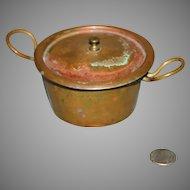 Antique Copper doll pot