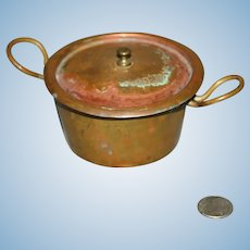 Antique Copper doll pot