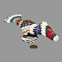 Native American beaded Peyote bird