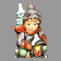 #396 German Goebel Hummel Figurine Ride into Christmas 1971
