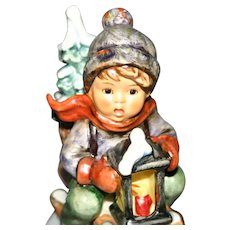 #396 German Goebel Hummel Figurine Ride into Christmas 1971