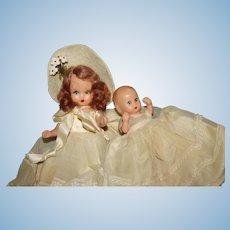NASB Hard plastic doll & Baby