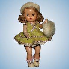 Nancy Ann Storybook Muffie 1955 skater doll