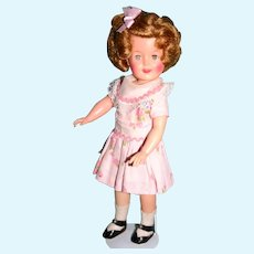 "1950's 12"" Ideal Shirley Temple all original tagged dress"